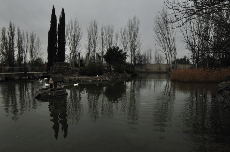 parque garcia lorca, estanque 1