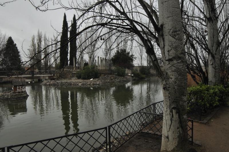 parque garcia lorca, estanque 3