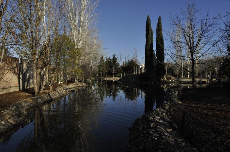 parque garcia lorca, estanque rincon