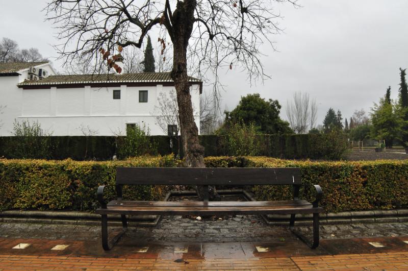 parque garcia lorca, lineas banco